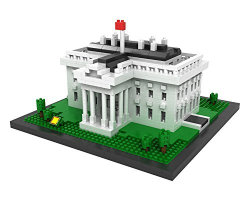Washington Block - POCO DIVO White House Micro Block Building Set (1170 pcs)