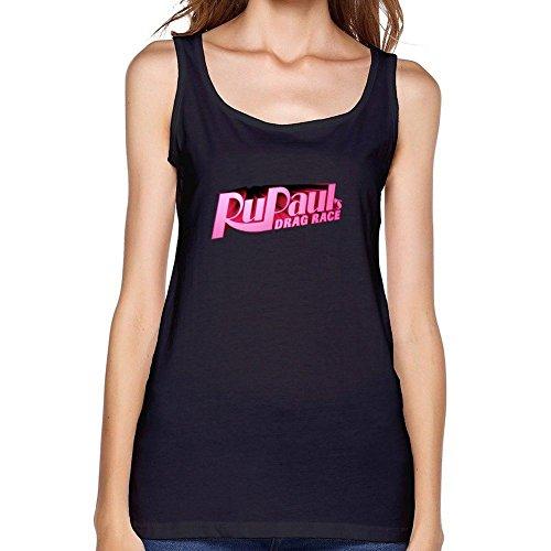 XIULUAN XIULUAN Women's RuPaul's Drag Race Logo tops Size S ColorName