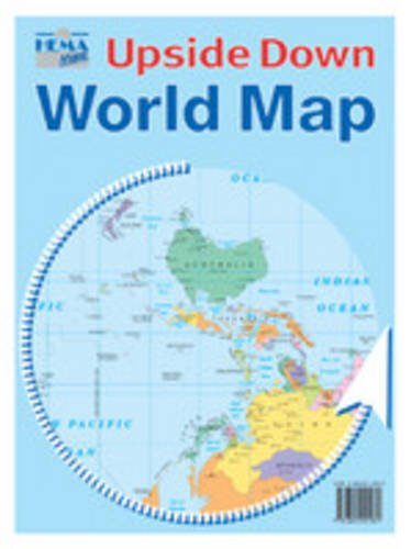 Buy The Kiwi Upside Down World Map Book Online At Low Prices In