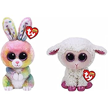 6c965138694 2017 Set Of 2 EASTER Twinkle Lamb and Bubby Bunny 6