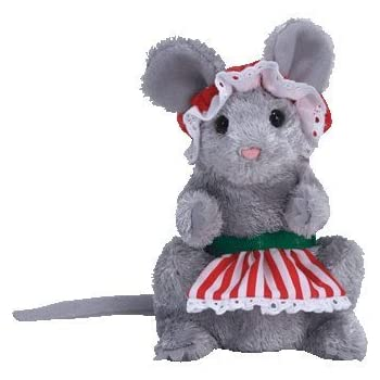 Amazon Com Ty Baby Beanies Dickens Mouse Toys Amp Games