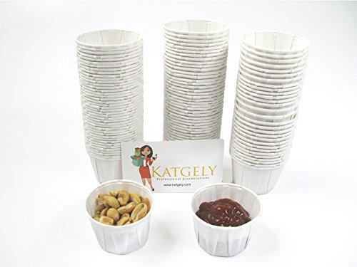 2 oz paper souffle cups - 8