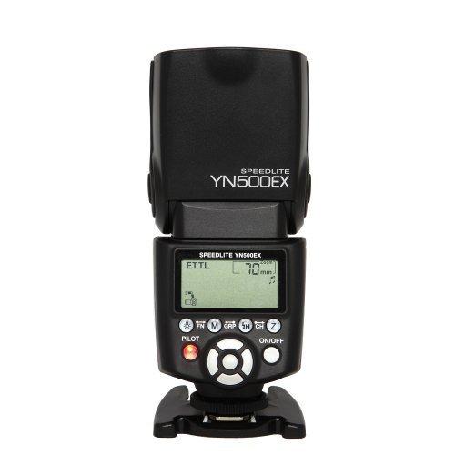 Yongnuo YN500EX E-TTL Blitzgerät für Canon EOS Kamera