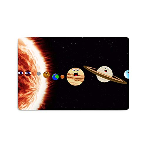 Personalized Pattern Print Design Placemats,Washable Placemats for Dining Room Kitchen Table Decoration (16 x 24 inch) Cartoon Expression Planets ()