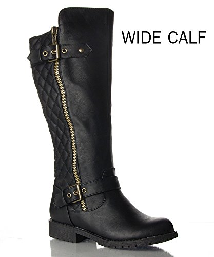 Wide Size Motorcycle Boots - 4