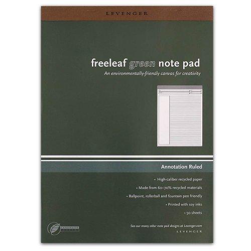 Freeleaf - Levenger Freeleaf Recycled Annotation Ruled Pads, Letter(5) (ADS5510)