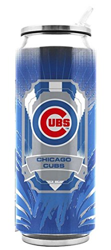 Chicago Cubs Stainless Steel Thermo Can - 16.9 ()