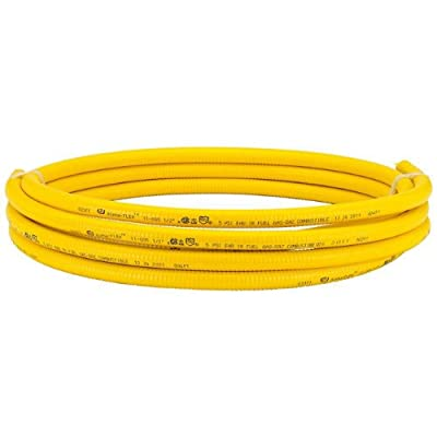 HomeFlex 11-00525 1/2-Inch x 25-Feet Corrugated Tubing, Stainless Steel