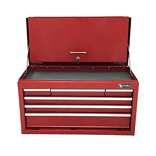 Excel TB2050BBSA-Red 26-Inch Steel Chest, Red by Excel