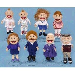 Cheerleader Puppet (Family Girl Glove Puppet)
