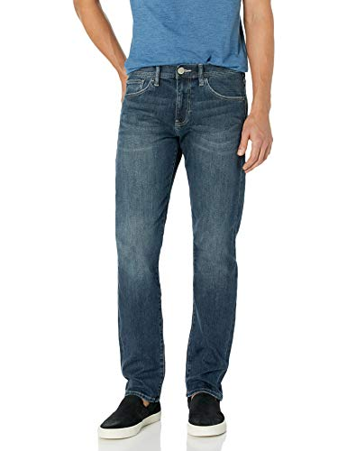 A X Armani Exchange Men's  Straight Fit Jean, Medium Wash, 30 Short (Shoes Armani Men Jeans)