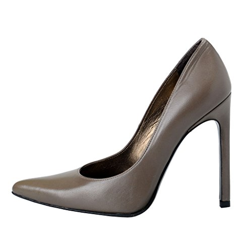 Pumps Weitzman Shoes Green Classic Dark Olive Heel Pointy High Stuart Toe Brownish Women's 0fnCwqggT