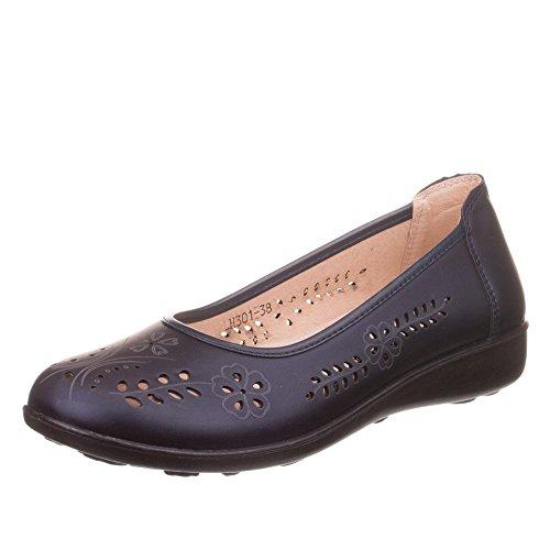 Ital-Design - zapatilla baja Mujer Azul - azul oscuro