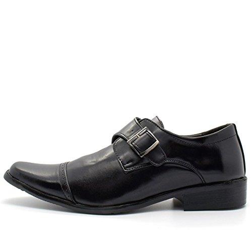 London Footwear - Botas hombre negro
