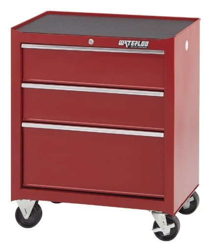 (Waterloo Shop Series 3-Drawer Rolling Tool Cabinet, 26