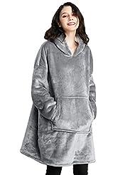 Cmtpuy Sweatshirt Blanket,Oversized Sher...