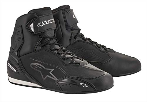 (Alpinestars Faster-3 Shoes (11, Black/Black))