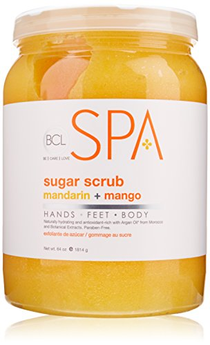 Bio Creative Lab BCL Spa Sugar Scrub, Mandarin and Mango, 64 Ounce ()