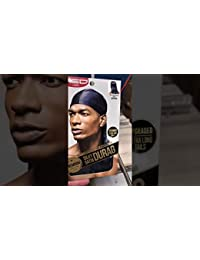 RED by KISS Premium Silky Satin Durag Navy HDUP06