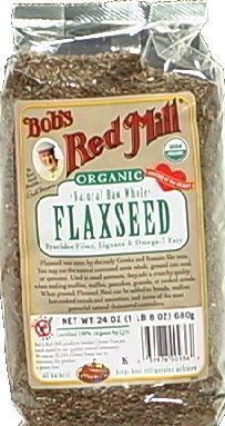 Bob's Red Mill Flaxseeds Brown Organic 24.0 OZ (Pack of 3)