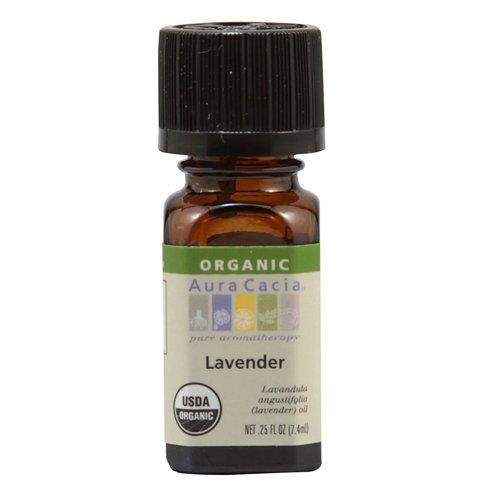 Aura Cacia Organic, Lavender, 0.25 Fluid - Perfume Aura Cacia Natural