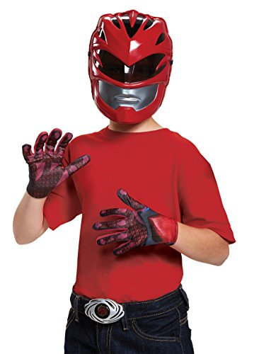 Red Power Ranger Movie Child Accessory Kit - Boys Red Power Ranger Costumes