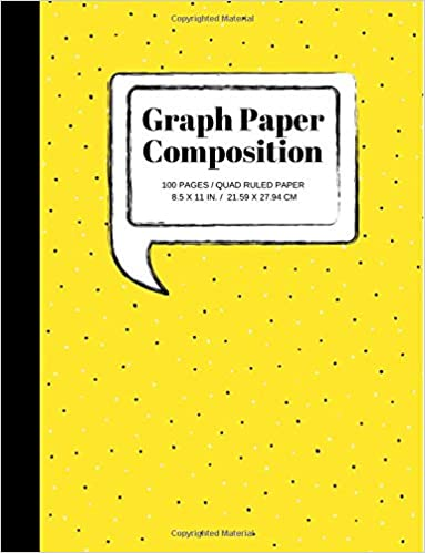 graph paper composition notebook grid paper notebook quad ruled 100 sheets large 85 x 11