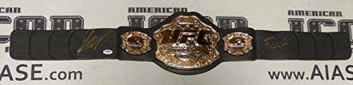 Georges St-Pierre GSP Signed UFC Toy Championship Belt for sale  Delivered anywhere in USA