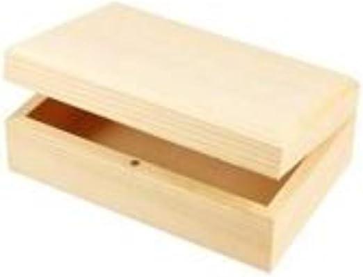 Caja de joyería de madera o decorar 14 x 9 x5cm | Cajas de madera ...