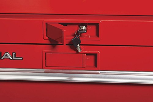 Waterloo PCA-36821RD Professional HD Series 8-Drawer Rolling Tool Cabinet, Red Finish, 36'' W by Waterloo (Image #6)