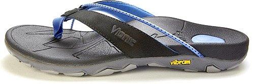 Orthaheel Womens Cascade Black/Blue Sandals 5 M