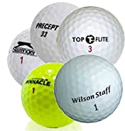 Assorted Mix Mesh Bag AAA (3A) Recycled Golf Balls- 100 Pack
