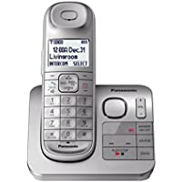 Panasonic KX-TGL430S / KX-TG3680S Dect 6.0 1-Handset Landline Telephone, Silver (Certified Refurbished)
