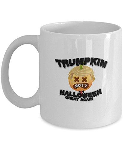 Pumpkin Trumpkin 2017 Make Halloween Great Again Mug