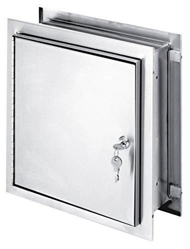 Specimen Pass Thru Cabinet - Omnimed  181785 Pass-Thru Cabinet with Adjustable Flange