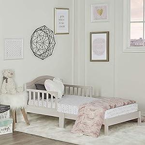 Dream On Me Sydney Toddler Bed, Metallic Gold Dust