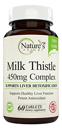 Natures Potent Thistle Extract Tablets product image