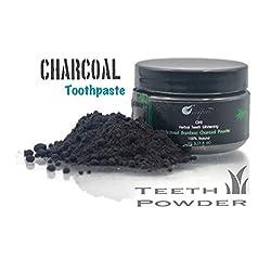 Charcoal Toothpaste 100% Natural Charcoal Teeth PowderHerbal Teeth Whitening 50g (1.6 oz)
