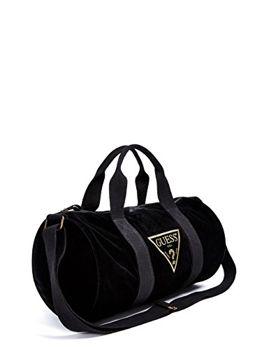GUESS Factory Women's Velvet Logo Duffle Bag