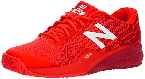 New Balance Men's 996v3 Hard Court Tennis Shoe, Flame, 11 2E US
