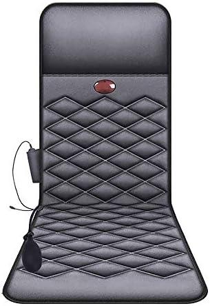 マッサージマット、指圧Vibrataion電気暖房マッサージマットレスパッドバックネックマッサージャーマッサージクッション