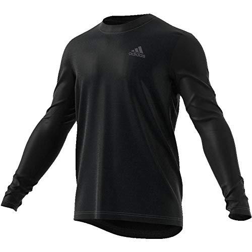 Eli Nero Ls Uomo shirt Freelift Adidas T 5WOqABYwn