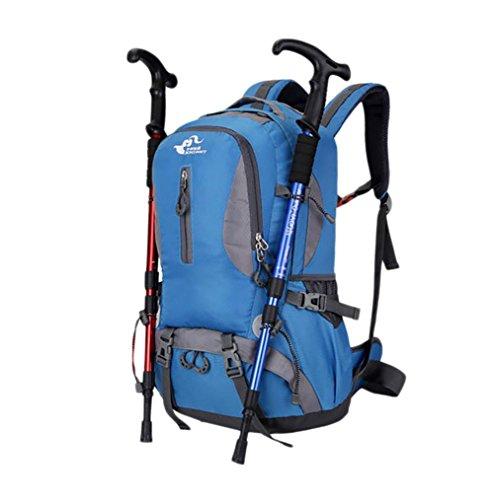 Bolsas Deportes 40L mochilas de senderismo al aire libre Bolsa recorrido senderismo impermeable de los hombres de las mujeres de los hombres que acampan Mochilas , 4 3