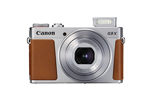Canon PowerShot G9 X Mark II Compact Digital Camera w/1 Inch Sensor and 3inch LCD – Wi-Fi, NFC, Bluetooth Enabled (Silver)