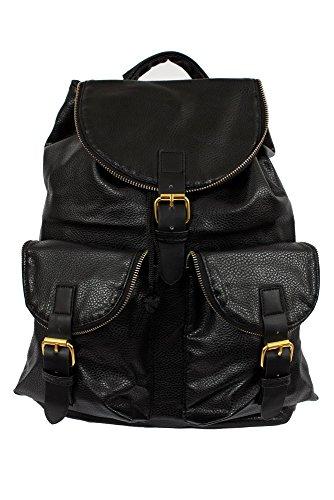Streetwear Special - Bolso al hombro para hombre negro