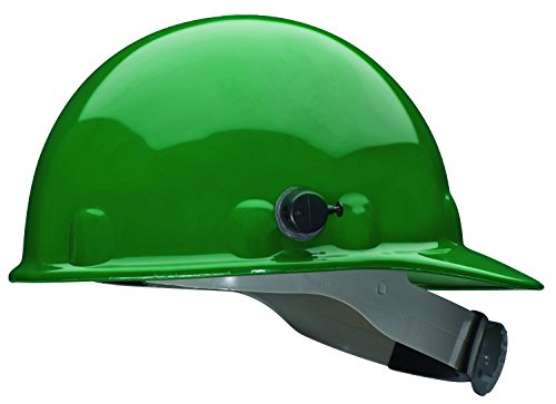 (Fibre-Metal by Honeywell E2QRW74A000 Super Eight Ratchet Cap Style Hard Hat with Quick-Lok, Green)
