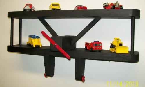 "Review BLACK Airplane Shelf Wall Decoration - 18"" Wide X 3 By Dechant's Railroad Express by Dechant's Railroad Express"