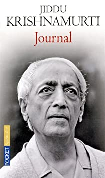 Journal par Krishnamurti