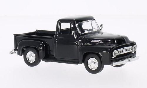 Ford F-100 Pick Up, schwarz, 1953, Modellauto, Fertigmodell, Lucky Die Cast 1:43