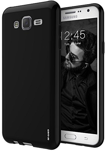 Slim Shockproof Case for Samsung Galaxy J7 (Black) - 6